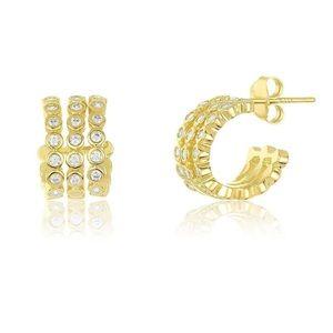 Melinda Maria Kensley Huggie Earring (NEW)
